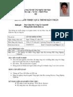 CV Minhcuong