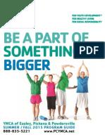 YMCA Program Guide Summer Spring Summer 2015