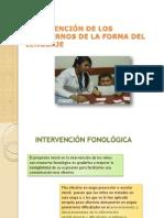 Intervencion Fonologica y Fonética