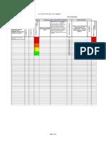 A Straightforward Risk Assessment Register