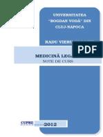 Curs Med. Leg. DREPT-Actualizat 2015