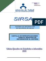 Cartilla de Para El Registro de Informacion Al Sistema.