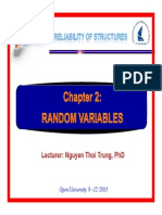 Reliability of Structures Chapter 2
