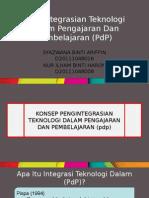 Pengintegrasian Teknologi Dalam Pengajaran Dan Pembelajaran (PdP)