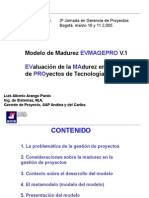 Ponencia Luis Arango Modelo de Madurez EFMAGEPRO V1