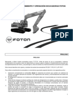 Manual Mntto. Excavadora Foton.pdf