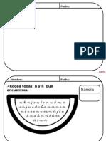 Fichas de Letras
