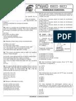 Física - Pré-Vestibular Impacto - Termologia - Exercícios