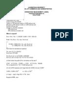 OM1 Practice Exam#2Solns (Revised Dec 2010)