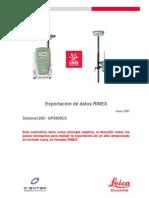 #05 Gps900cs Exportacion Rinex