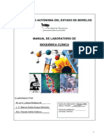Manual de Bioquimica Clinica Version 2007 Farmacia Uaem