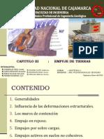 Cap. 3 - Empuje de Tierras PPT