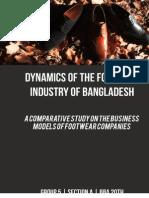 Footwear Industry Bangladesh - A Comparative Study