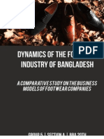 Footwear Industry Bangladesh - A Comparative Study