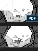 Book of Life deleted Bar fight storyboard sequence