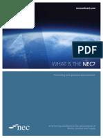 NEC Leaflet WhatistheNEC