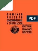 Sádaba Rodríguez - Dominio Abierto, Conocimiento Libre y Cooperación