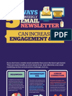 Weekly Email Newsl5 Ways a Weekly Email Newsletter Can Increase Engagement and ROIetter Can Increase Engagement