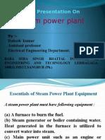 2013edusat Lecture on STEAM PLANT