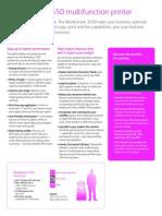 XEROX WorkCentre® 3550 multifunction Brochure
