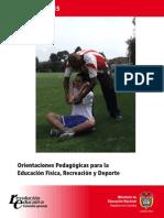 MEN- Orientaciones pedagógicas para la Educación Física, recreación y deporteOrientaciones pedagógicas para la Educación Física, recreación y deporte