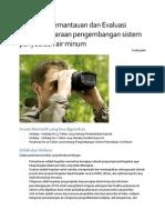 Pemantauan Dan Evaluasi Penyelenggaraan Pengembangan SPAM Fachri