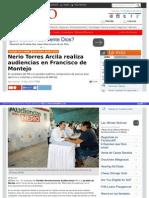 Nerio Torres Arcila realiza audiencias en Francisco de Montejo