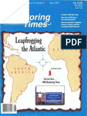 05 May 1995 | Antenna (Radio) | Radio Jay Gee Monitor Camper Wiring Schematics on