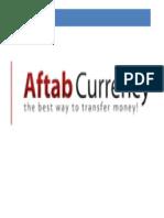 Aftab Currency Exchange Internship Report