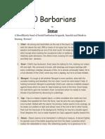30 Barbarians