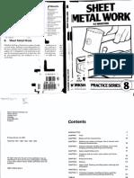Workshop Practice Series No. 8 - Sheet Metal Work (74p)