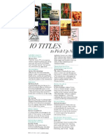 10 Titles To Pick Up Now - O Magazine, June 2014