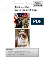 civil war causes h dbq walsh