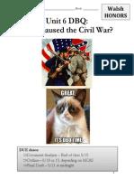 civil war causes h dbq walsh