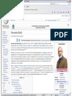 Wikipedia Updated Narendra Modi