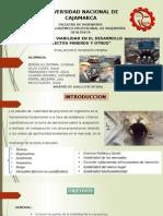 Cap IV Estudio de Viabilidad en El Desarrollo de Proyectos Mineros