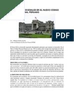 Principios Procesales en El Nuevo Código Procesal Penal Peruano