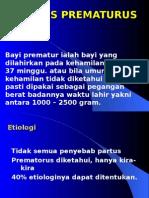 PARTUS PREMATuRUS