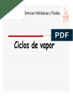 Unidad 01 - Presentación Ciclos de Vapor y Consumo Específico