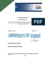 M a Chaudary & Co. Internship Report