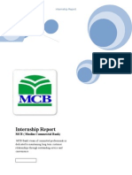 MCB Intership Report