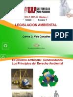 Legislación Ambiental - Unidad 01