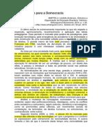 TEXTO 1 - Educação Para a Democracia - Lindolfo Martelli