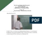 Organisational Management-NPTEL