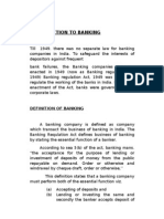 Introduction to Bankinga
