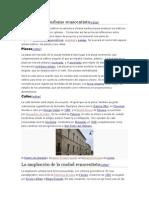 Planeamiento Urbano Renacentista