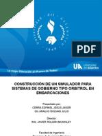Presentación proyecto simulador de sistemas e gobierno