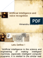 Ai in speech recognition