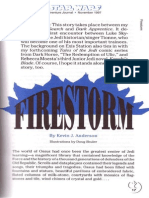 Star Wars Adventure Journal 15 Firestorm by Kevin j Anderson