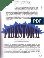 Star Wars Adventure Journal 15 Firestorm by Kevin j Anderson